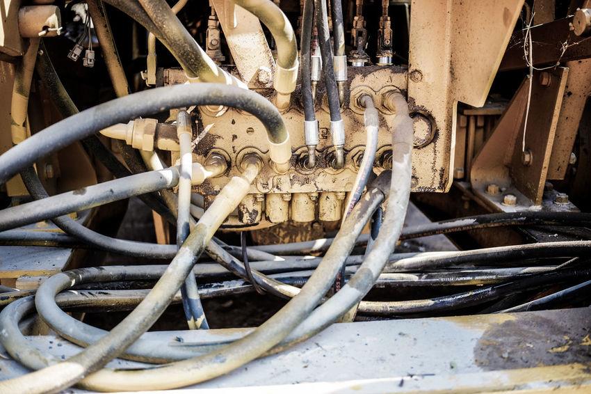 Work hard Hydrolic Pump Hydrolic Industry Land Vehicle Machine Part Machinery Metal Rusty