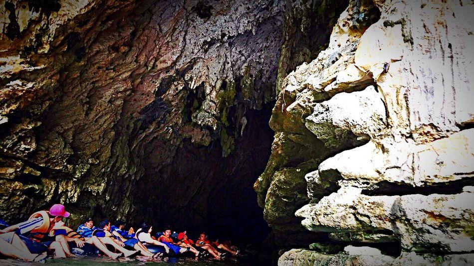 Cave tubing @ Cave Pindul Wonosari