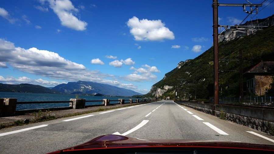 Roadtrip GT86 Toyota 1st Ride Memories Mein Automoment Road Trip Road Lake View Mountains Clouds And Sky The Drive My Year My View