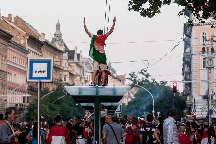 Hungarians cheer for Euro 2016 Budapest Cheering Euro2016 Eye4photography  EyeEm EyeEm Best Edits EyeEm Best Shots EyeEm Gallery EyeEm Nature Lover EyeEmBestPics Eyeemphotography Flag Football Football Life Frenzy Happy Hooligans Hungarian Lifestyles Photography Photoshoot