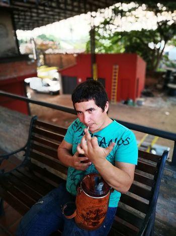 El compero de trabajo.. TerereTime Paraguay-Asuncion