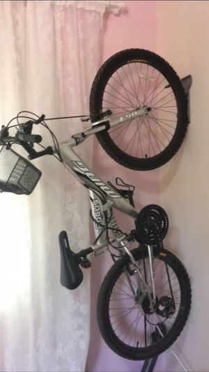 100happydayshl Day14 my friend hang up her old bicycle on the wall 😂