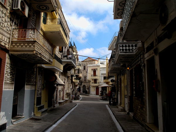 City Travel Chios Greece Island Medieval Streetphotography Tourism Village