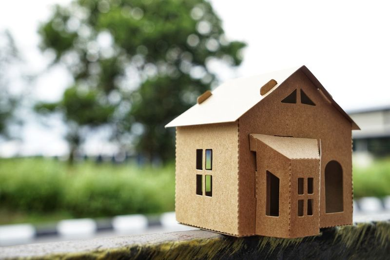 House Building Built Structure Home Ownership Architecture Building Exterior Focus On Foreground Wood - Material Residential District No People Tree Nature Plant Day Home Toy Outdoors Toy Block Model Home Close-up Housing Development Small