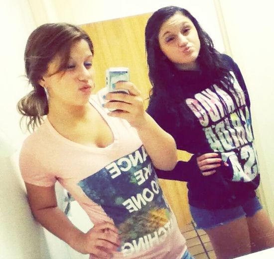 me and my best fraaannnd(: Hanging Out