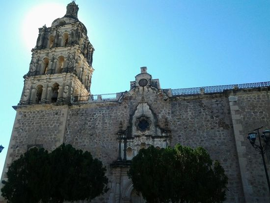 Alamos Sonora Relaxing Enjoying Life Mexico Iglesia