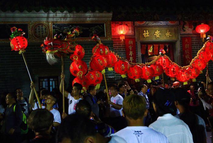 天后誕 Birthday Of Tin Hau Celebration Traditional Festival Chinese Dragon Yuen Long Hong Kong
