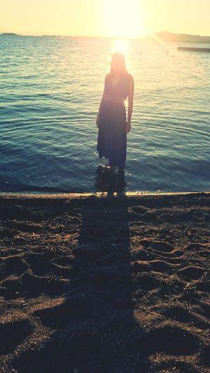 Ozean Meer Grichenland Kleid Sonne