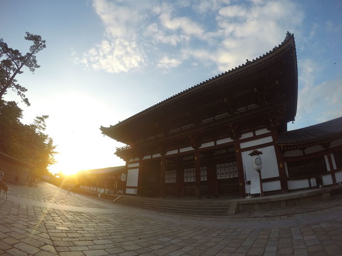 Toudaiji Nara,Japan Temple - Building Architecture Sunset Outdoors Tradition History Travel Destinations No People