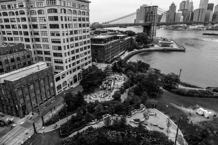 Architecture Blackandwhite Photography Bridges Connection From Above  Fujifilm_xseries Harbor High Angle View Historic New York City Outdoors Photographyisthemuse Quote River View Rooftop Sky And Clouds Subway Train Text Travel Destinations Travel Photography Urban Landscape Urban Skyline Waterfront Western Script