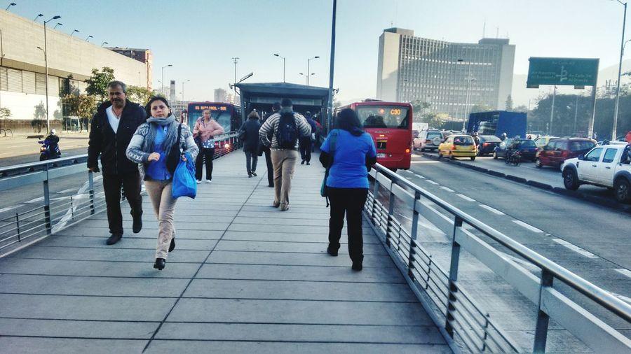 Transporte Público Transmilenio Transmilenio Bogotá