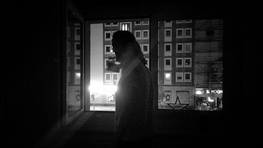 Day 348 - By the window Berlin Blackandwhite Window Street 365florianmski 365project Day348