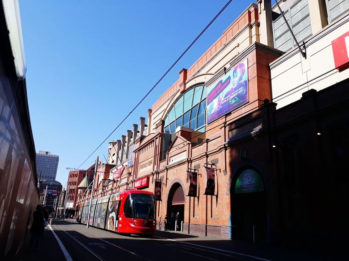 EyeEm Selects City Sky Architecture Building Exterior Vehicle City Street Tramway Tram