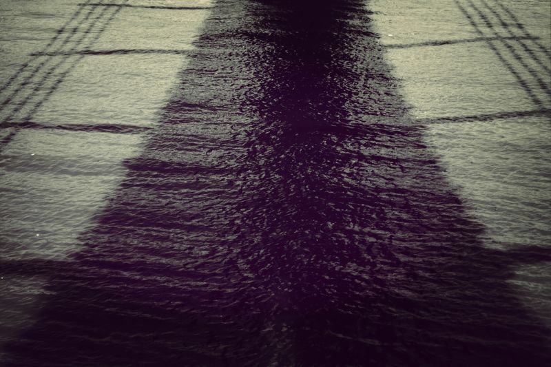 Under The Bridge Shadow at High Noon. London