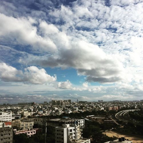 Bangalore - the city of skies Horizon Sky And Clouds Sky Cloudporn Cloudscape Cloud - Sky Clouds India Bangalore Sky Architecture Building Exterior Built Structure City EyeEmNewHere Building Cityscape Nature Outdoors Travel Destinations High Angle View No People TOWNSCAPE City Life Residential District Day First Eyeem Photo