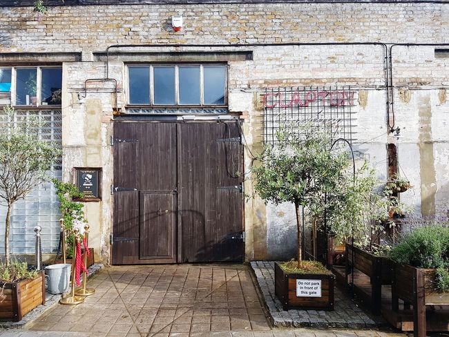 Door Architecture Built Structure Day No People Outdoors Building Exterior London Hackney Warehouse Coworking