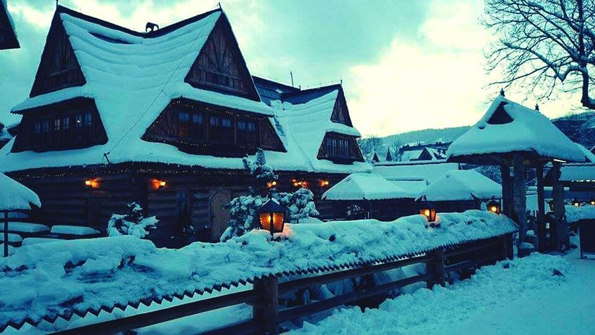 Zakopane Winter Poland Galosikphotigraphere GalosikFotografę Cottage