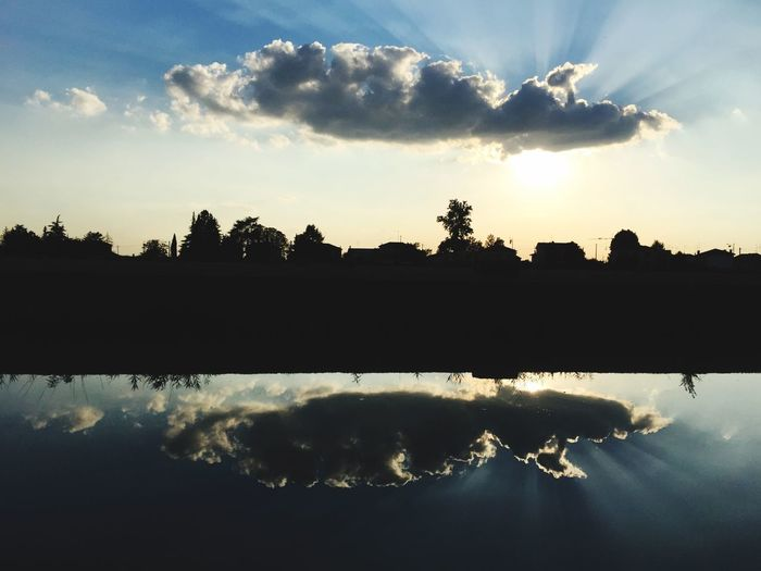 Water Reflections Clouds And Sky EyeEm Nature Lover Eye4photography  EyeEm Best Shots Check This Out Landscape