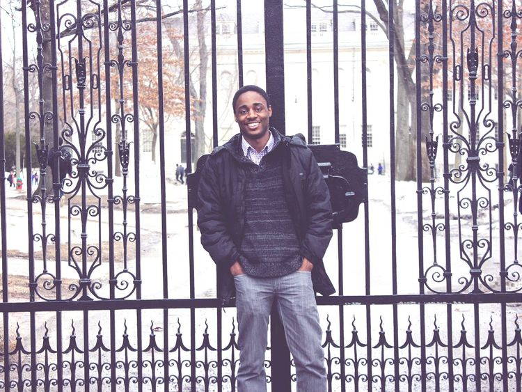 A day at Harvard University Cambridge Winter