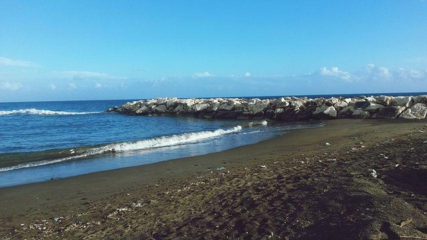 Beach Sea Wave Blue