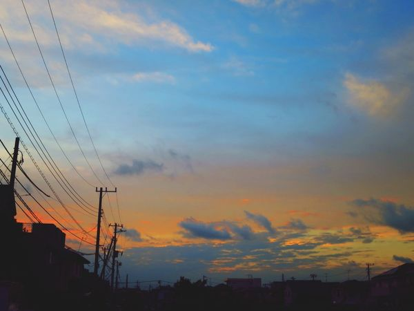 お疲れ様でした。 Canon S120 Sun Set Afterglow Twilight