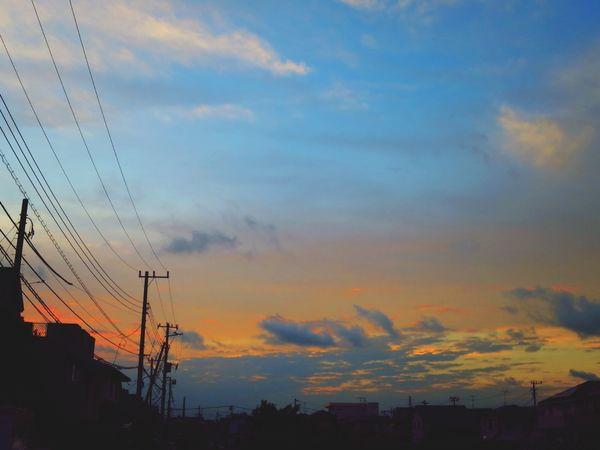 お疲れ様でした。 Canon S120 Sun Set Afterglow Twilight