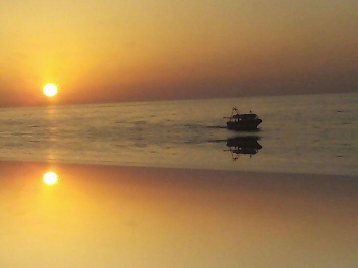 sun set Sunset Nautical Vessel Orange Color Sea Water Biutifull Photo Sun Sky Clouds Ships⚓️⛵️🚢 The Magic Mission Sky Travel Sealife Sun Sea And Sky Sea Life Sun