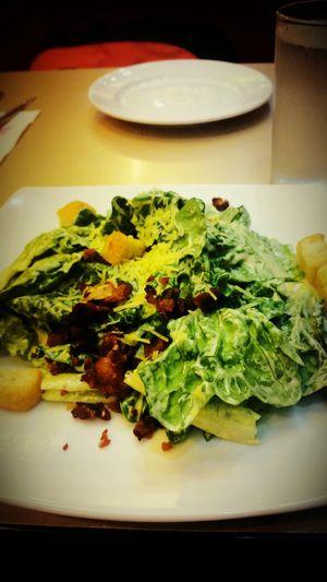 Caesarsalad Salad Time Vegetables Pizzahut Foodstagram