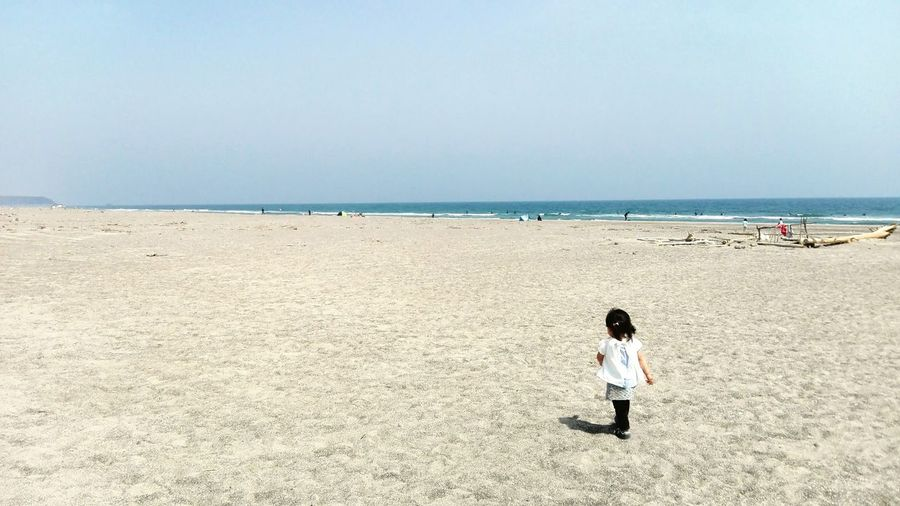 My daughter. Japan Aichi Sea Sea And Sky Daughter