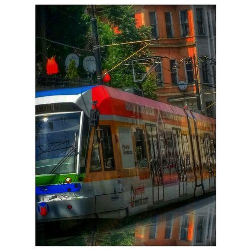 Istanbul Turkey At Sultanahmet Tramvay