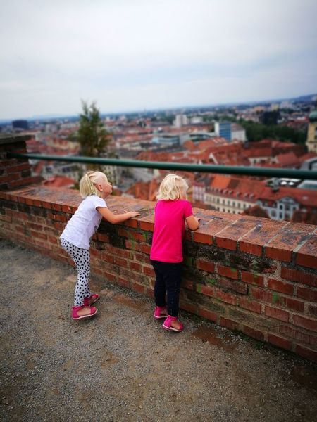Niece 💕 Schlossberg Graz Graz Styria Austria Blond Hair Real People Children Only