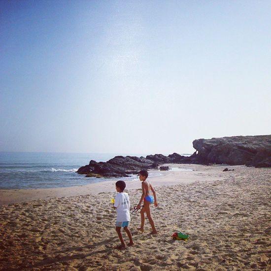 Tunisie Bizerte plage Bchater شاطي بشاطر الجميل بمنطقة بنزرت التونسية صيف 2010
