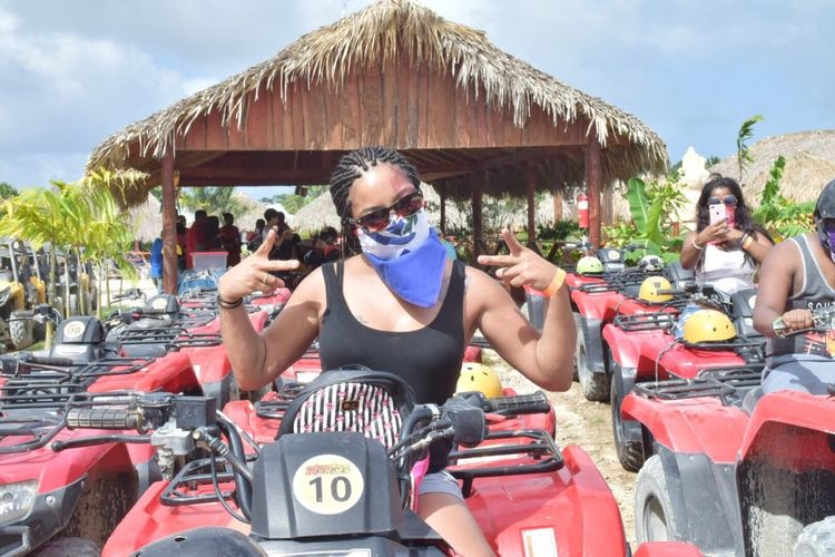 Mode Of Transport Real People ATV Riding Dominican Republic Funtimes