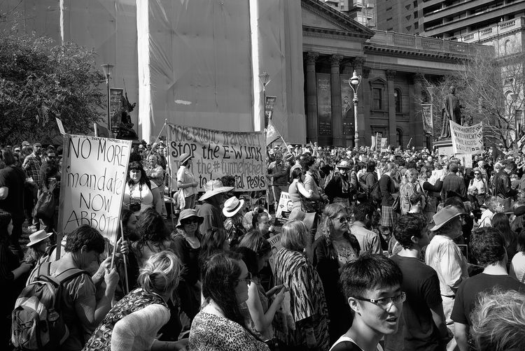 Australia Black And White Leicacamera Melbourne City Politics Politics Alcohol And Other Nonsense Protesters Protesting Tony Abbott