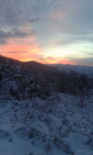 Gün batımı :)