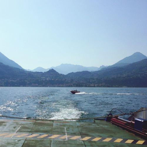 Start A Trip Landscape Lago Di Como Ferry