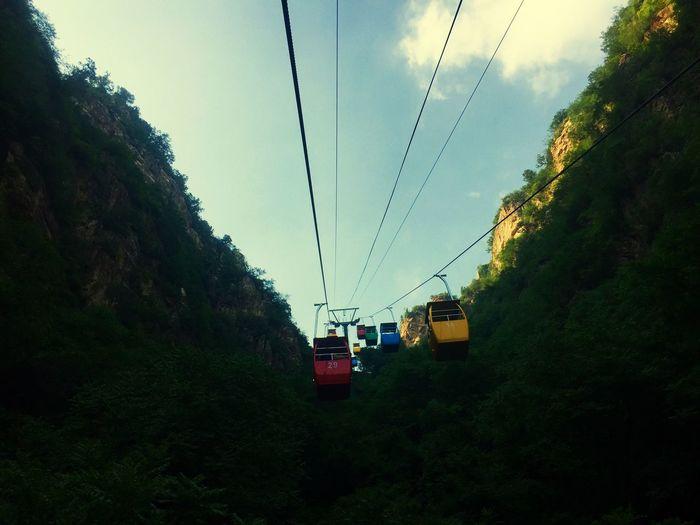 龙庆峡索道