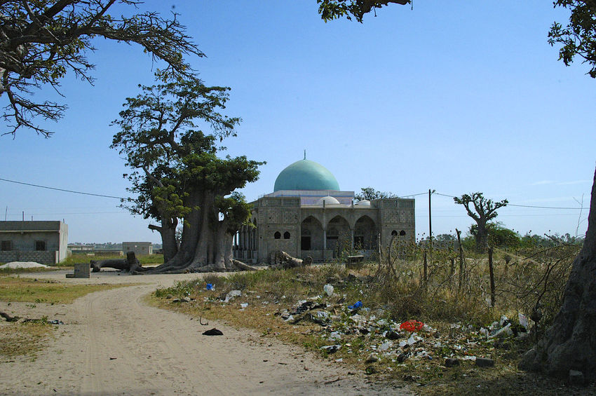Palmarin Senegal Palmarin Architecture Building Exterior Built Structure Day Delta Dome Islam Islamic Architecture Mosk No People Outdoors Place Of Worship Religion Religious Building Senegal Sine Saloum Delta Sine-saloum Delta Sky Spirituality