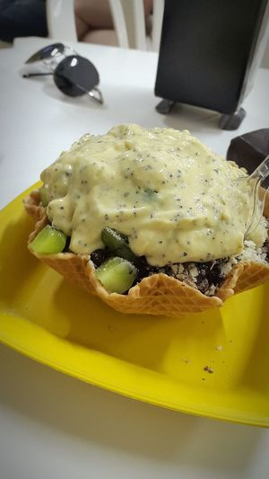 Food Indoors  Freshness No People Defocused Ready-to-eat Healthy Eating Close-up Day Mousse Açai <3