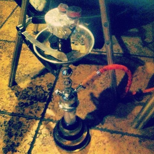 Hookah and Pandora with the cousin