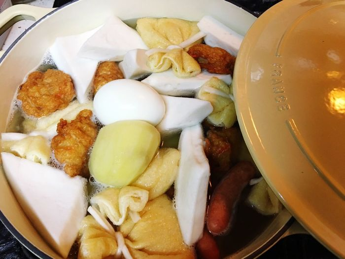 Hello World Enjoying Life Nice Day Yammy!!  Food Japanese Food Oden おでん シャスール キャセロール SHASSEUR 大量に作りすぎた。・°°・(>_<)・°°・。