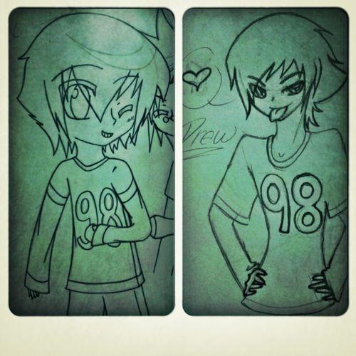 Last one. Night guys xD Art  Pencil Redrawn Awesome