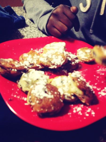 Fried Oreos with Powdered Sugar ... #Basic