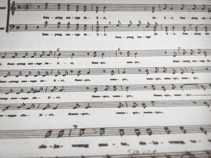 For the love of music. Music Piano Musicsheet Choir  Ensemble Notes EyeemPhilippines