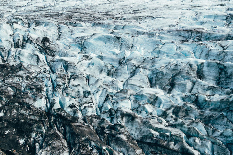 Iceland Backgrounds Beauty In Nature Blue Close-up Cold Temperature Day Full Frame Glacial Glacier Ice Melting Nature No People Outdoors Pattern Rough Textured  Water