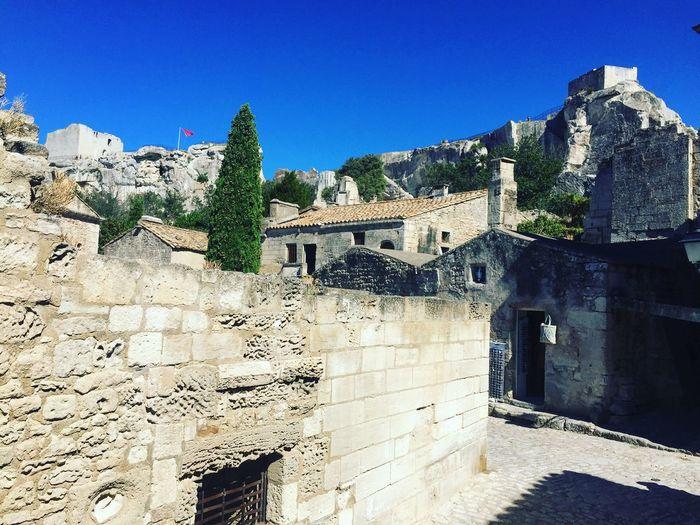South France South Sud France Old City Les Baux De Provence