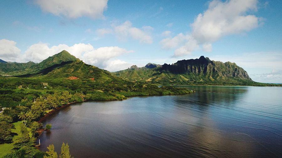 DJI X Eyeem Jurassic Park Oahu Hawaii