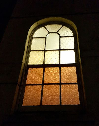 Built Structure Architecture No People Rainy Night Architecture Low Angle View Window. Arched
