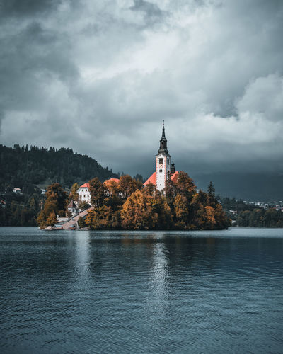 Church bled lake
