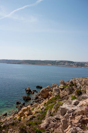 Cliff Sea View Adobe Beach Canon Go Pro Photography Hobbyphotography Malta Mellieha Photographer Sunny Day